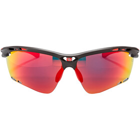 Rudy Project Propulse Okulary, charcoal matte/multilaser red